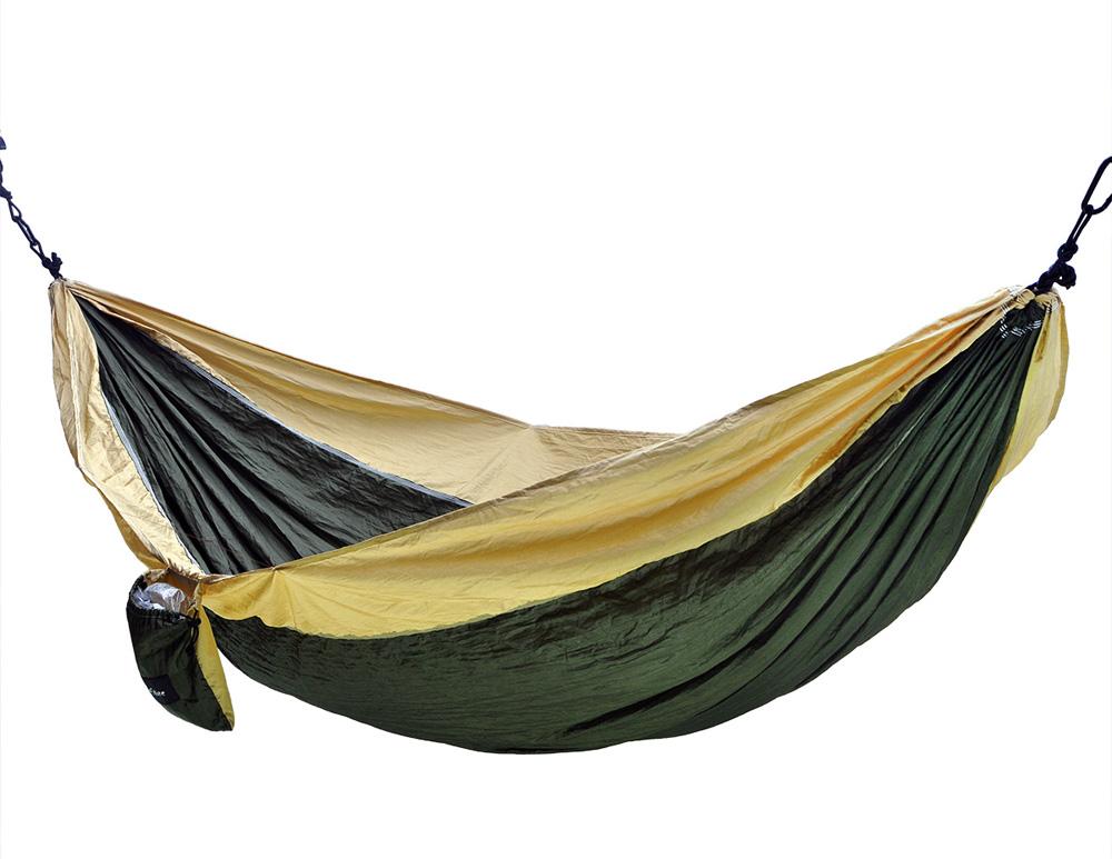 portable nylon camping hammock nest for double 118 x 78 inch olive   khaki portable nylon camping hammock nest for double 118 x 78 inch      rh   bluestone outdoor